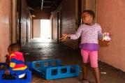 Girl playing in Landa Capetown
